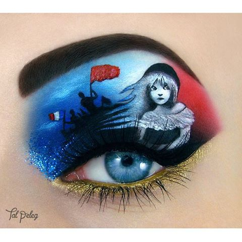 14-Les-Miserables-Tal-Peleg-Body-Painting-and-Eye-Make-Up-Art-www-designstack-co