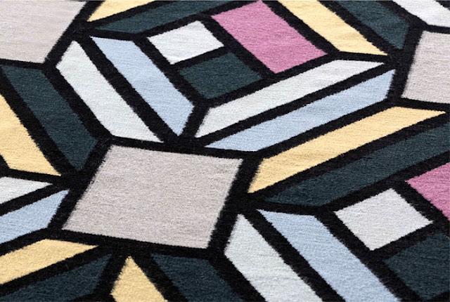 Новости дизайна. Визуальные эффекты и геометрия в последней коллекции GAN Kilim