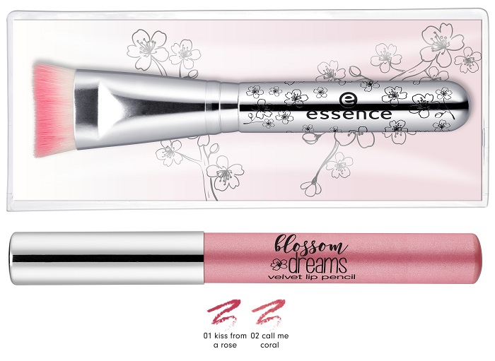 essence blossom dreams hihglighter brush