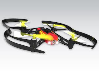 Dron Parrot Airborne Night Blaze z Biedronki