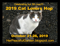 CAT LOVERS' BLOG HOP 2019