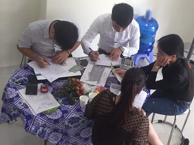 Khách hàng đặt mua dự án Phúc Hưng Complex
