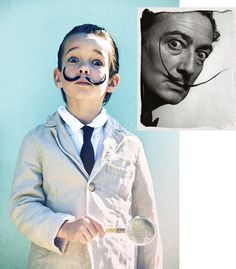 Disfraz original Salvador Dalí