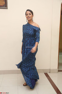 Anchor Anasuya in a Blue Gown at Jai Lava Kusa Trailer Launch ~  Exclusive Celebrities Galleries 036.JPG