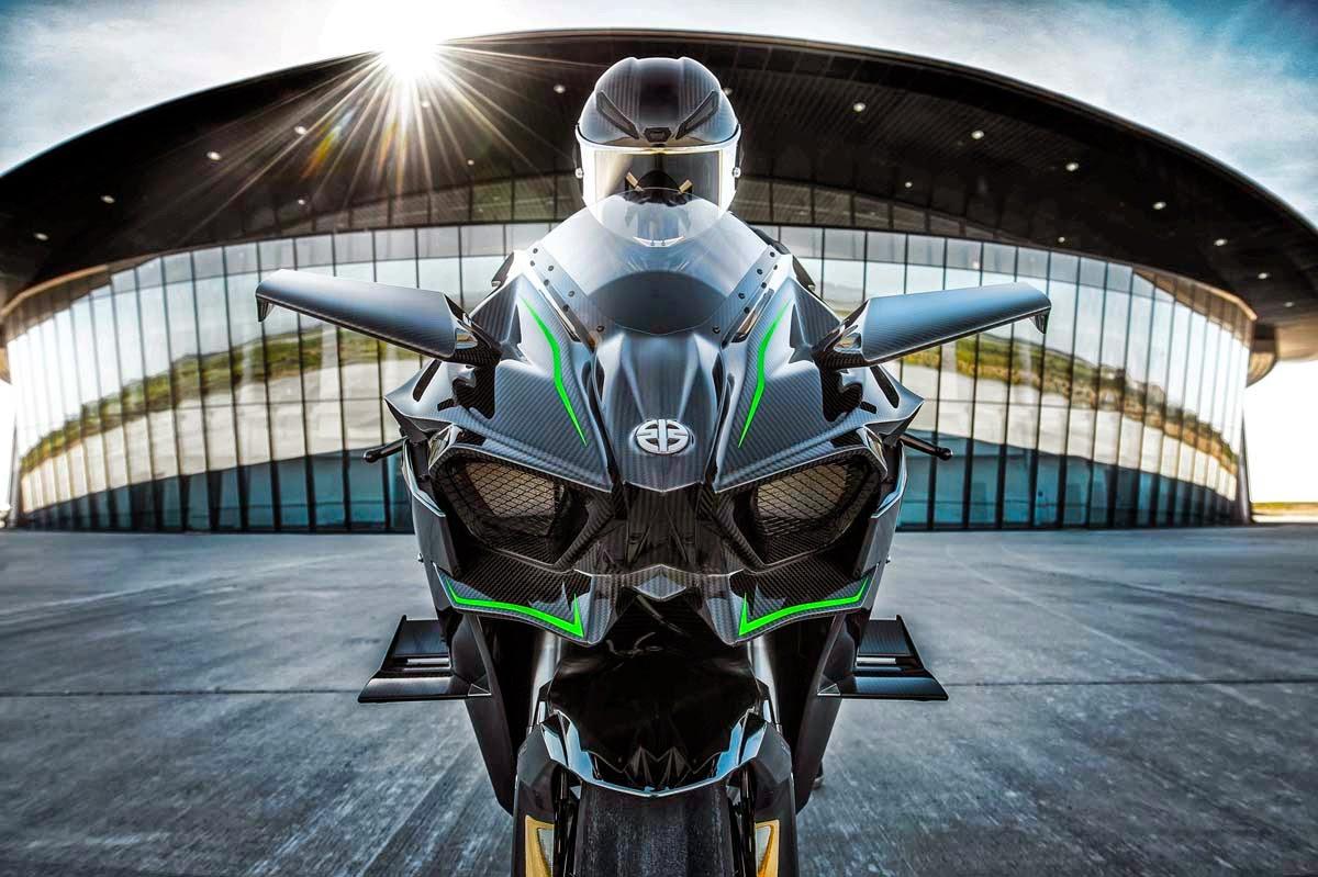 2015 Kawasaki Ninja H2r Front View