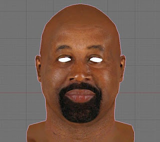 NBA 2K13 Coach Mike Woodson Cyberface