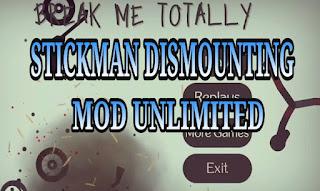 Stickman Dismounting MOD APK Unlimited Coins Terbaru versi 2.0