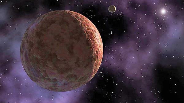 Makemake, un planeta enano diferente