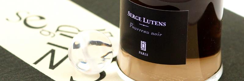 Serge Lutens • Fourreau noir EdP