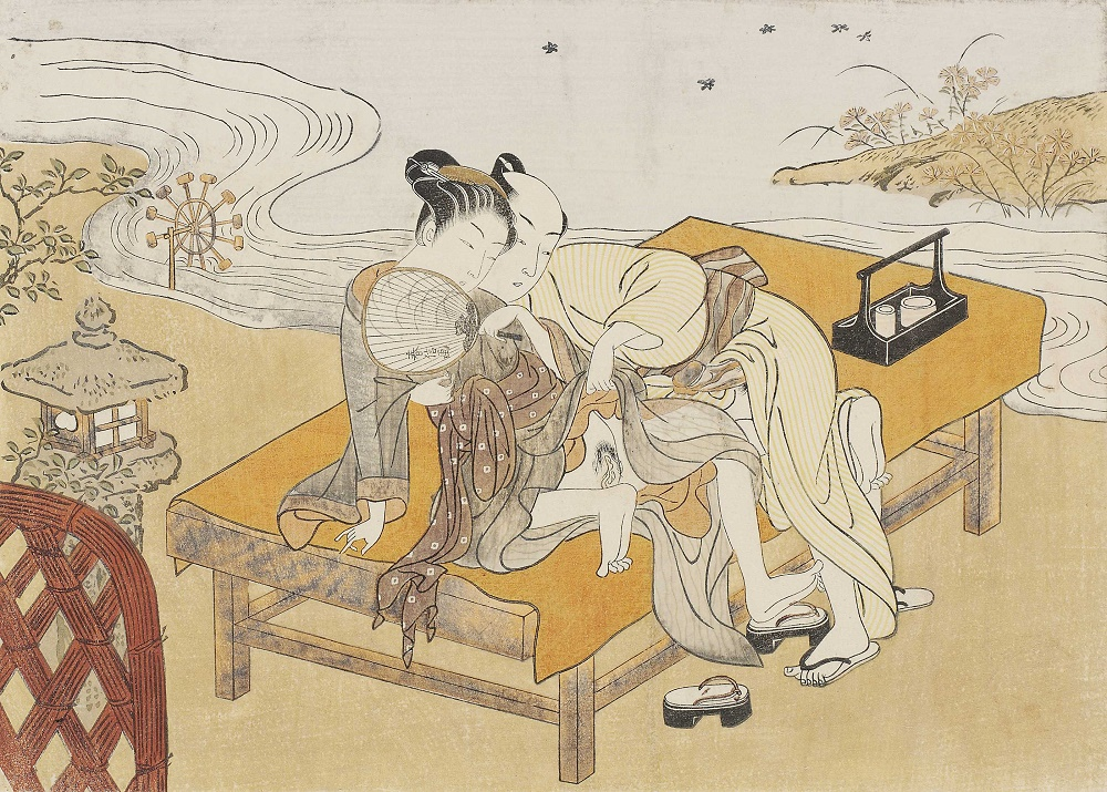 Explicit intent the art of shunga in japan