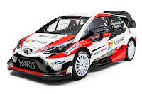 Toyota Yaris WRC 2017 Front Side