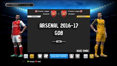 Arsenal 2016/17 GDB