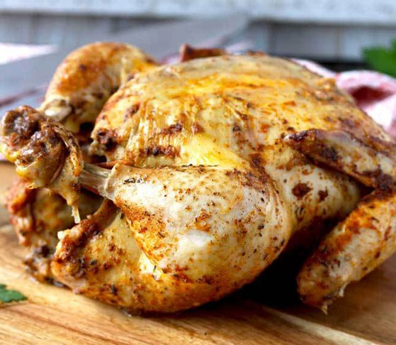 Instant Pot (Pressure Cooker) Whole Chicken