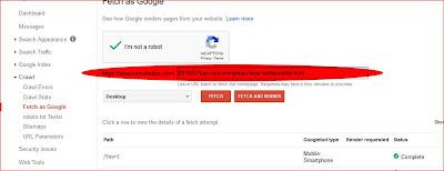 cara menampilkan blog di google