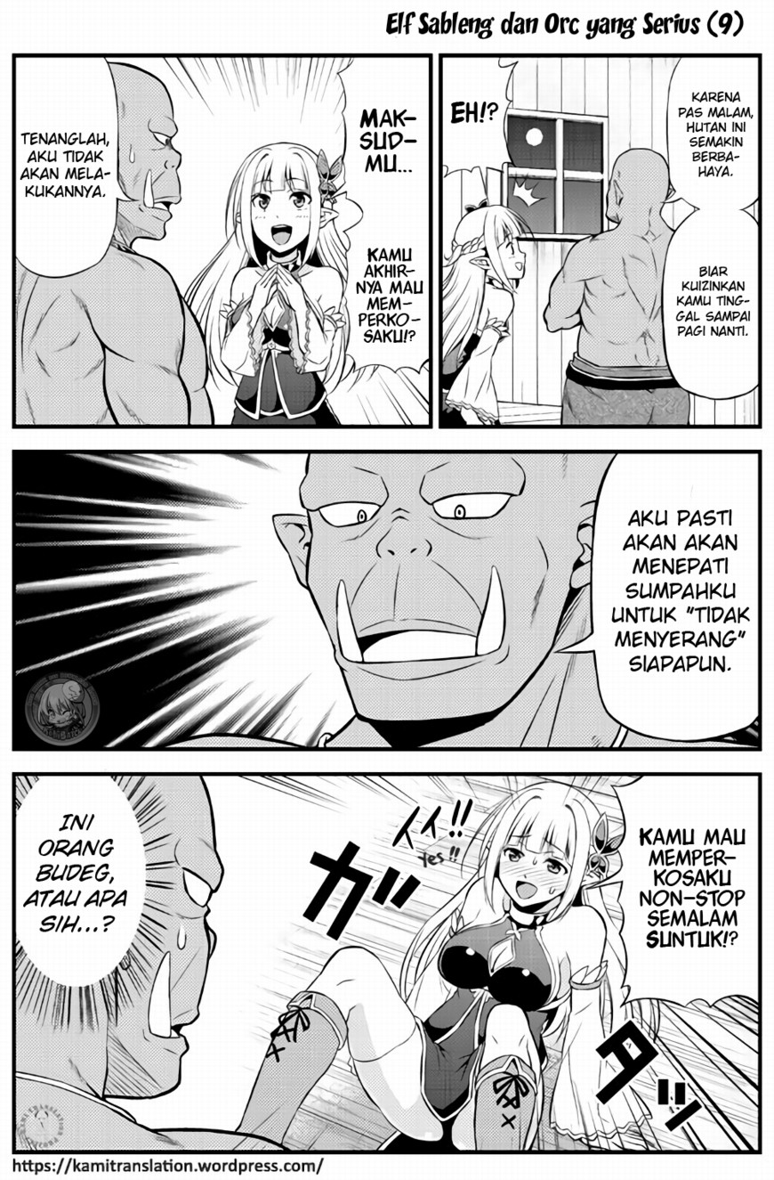 Hentai Elf to Majime Orc Chapter 2-13