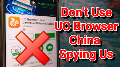 UC Browser Sending Data to China