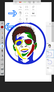 Edit Foto Pop Art di Android