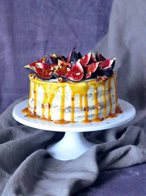 Spiced Fig Cake