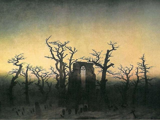 Romanticismo: cuadro de Friedrich