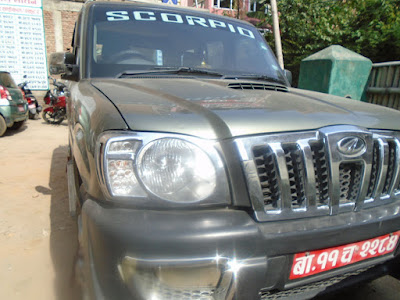 Car rental agency managed the Scorpio rental