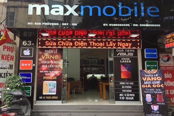 sửa iPhone 7 tại Maxmobile