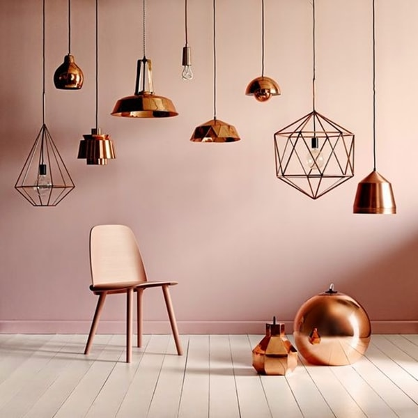 Copper, a Trend Very Industrial Lamps 14