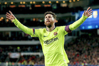Messi sets new record in Barcelona's 4-0 win over Espanyol