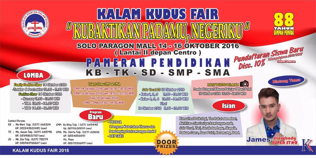 Kalam Kudus Fair 2016