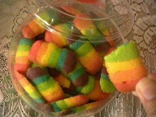 Cara Membuat Kue Lidah Kucing Rainbow Paling Lengkap