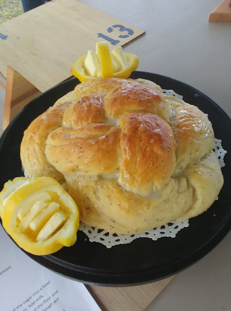 Lemon Bread Dutch Oven Cooking
