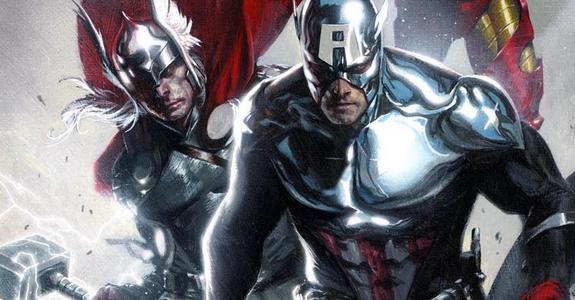 Thor y Capitán América