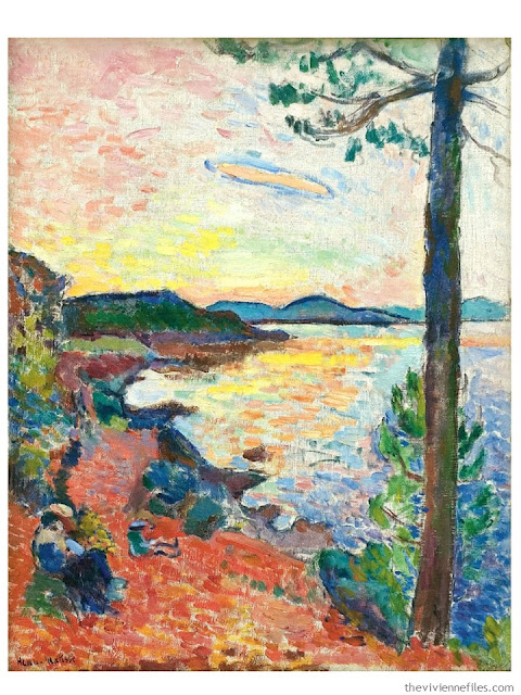 How to Build a Capsule Wardrobe by Starting with Art: Gulf of Saint Tropez by Claude Matisse