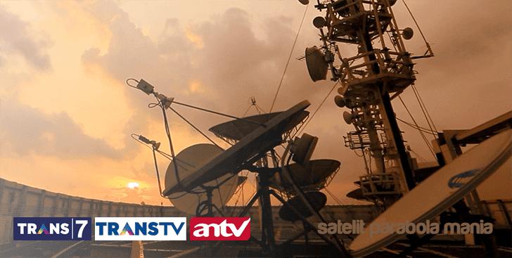 Frekuensi Terbaru Channel Trans7, Trans TV, ANTV di Satelit Telkom 3S