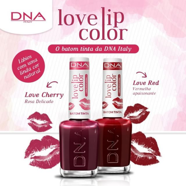 Lançamento: Love Lip Color da DNA Italy.