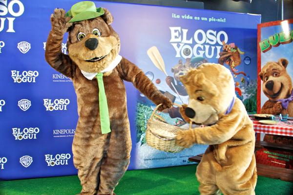 El oso Yogui en Kinepolis