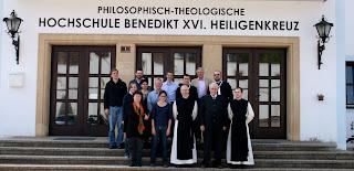 Gruppenfoto Seminar Heiligenkreuz/Tübingen