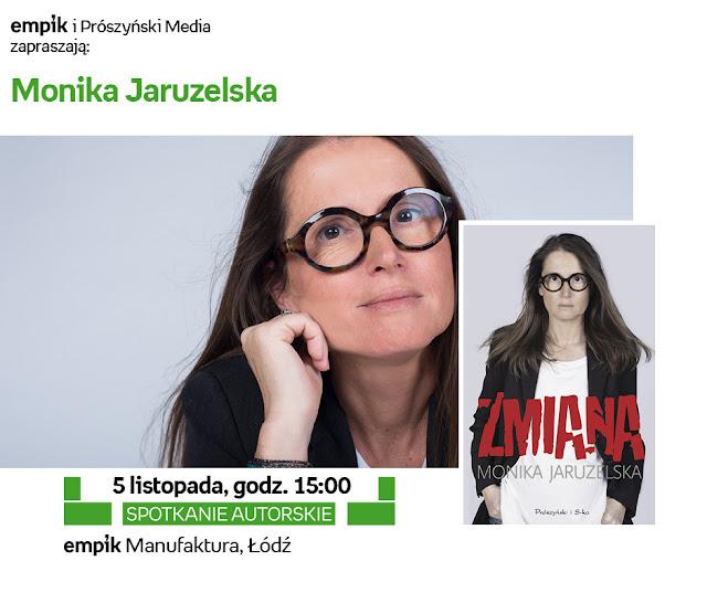 Monika Jaruzelska w łódzkim Empiku