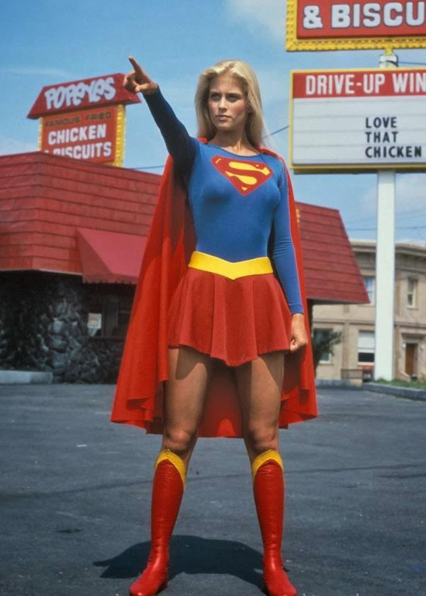 Saluting SUPERGIRL: DC's First Movie Heroine   Original Superwoman