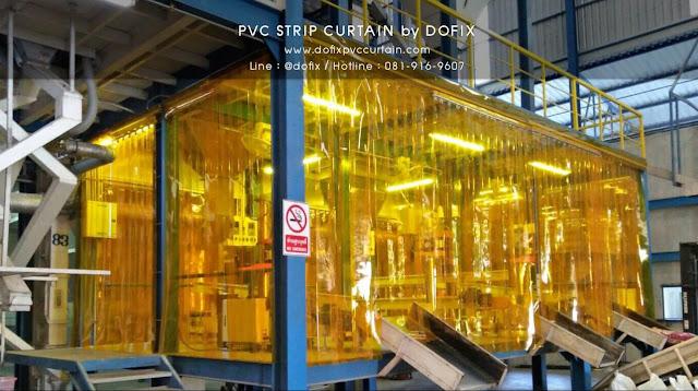 www.dofixpvccurtain.com นำเข้า และ จำหน่าย ม่านริ้วพลาสติก ม่านห้องเย็น ม่านสีเหลืองกันแมลง PVC Sheet Curtain สำหรับโรงงาน หรือ ห้องเย็น