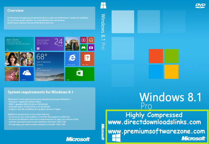 Windows 8 1 Pro Highly Compressed 10 MB With Activator 100