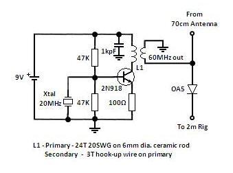 yagi tv antenna wiring diagram amateur radio uhf on a vhf rig  amateur radio uhf on a vhf rig