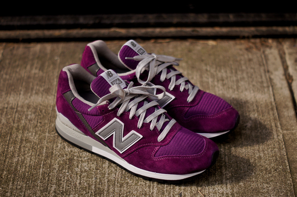 first rate 6da4d 2aa47 Kith NYC  New Balance  996 - Royal, Green and Purple