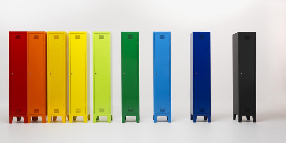 Fantin Scaffalature Metalliche.Mobilufficio Rappresentanze Fantin Arredo Metallico Colorato