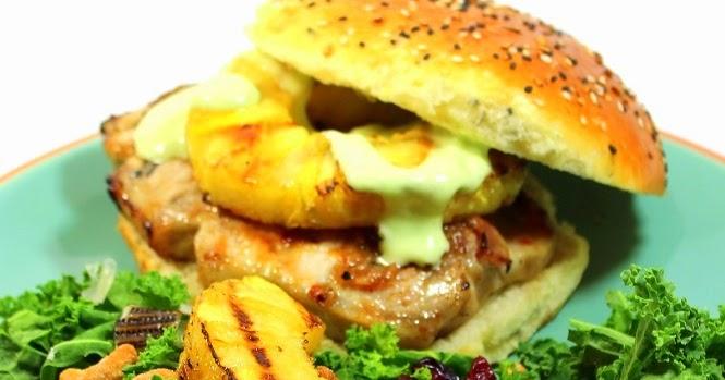 52 Ways to Cook: Grilling Time - Pineapple Jerk Glazed PORK CHOP ...