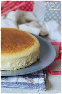 Japanese cotton chessecake receta