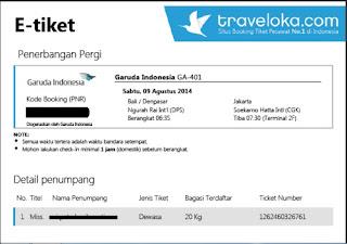 Sistem pemesanan tiket online