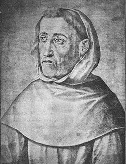 Fray Luis de León, por Francisco Pacheco (1599)