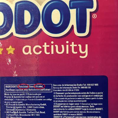 elementos tóxicos pañales dodot activity blog mimuselina