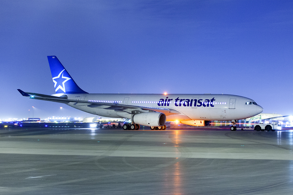 Resultado de imagen de Air Transat
