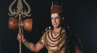 Foto Tarun Khanna sebagai Dewa Siwa di Shani